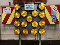 Highway Maintenance Light arrow