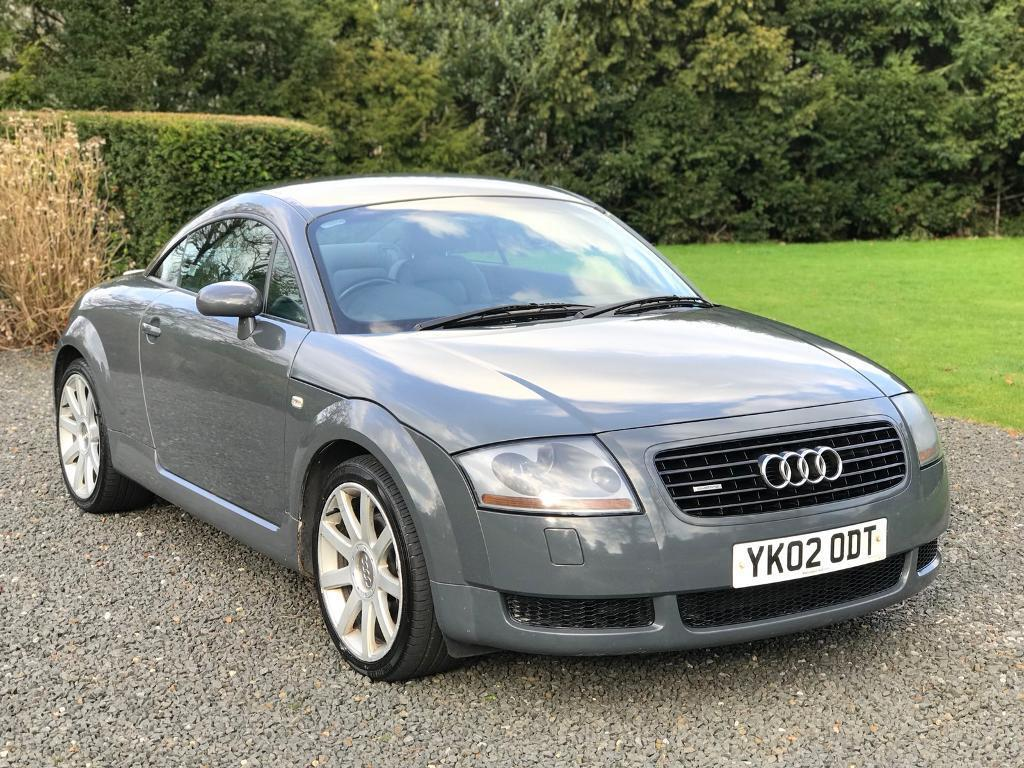 audi tt 1 8 t 225bhp rare nimbus grey full history. Black Bedroom Furniture Sets. Home Design Ideas