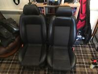 Ford Mondeo MK3 Half Leather Seats