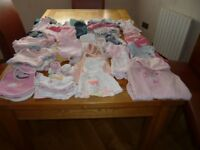 Huge bundle of baby girl clothes 0-6 months