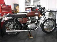 BSA THUNDERBOLT,380 MLS FROM NEW,AMAZING ORIGINAL USA BARN FIND !!!!!