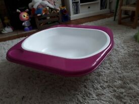 Purple edged Baby Bath