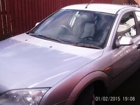 2001 ford mondeo 1.8.