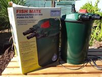 Fishmate pressurised uv pond filter 30000 p-uv