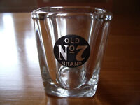 Jack Daniel's Old No. 7 Brand small square shot glass. Excellent condition.
