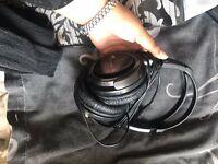 JVC over the ear headphones