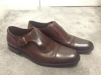 Almost brand new John Varvatos monk shoes on sale due to the smaller than needed size.