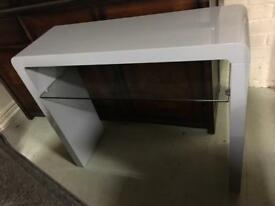 White high gloss hall table sale