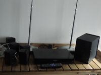 Panasonic DVD home theatre sound system, model No SA-PT90