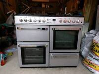 Flavel Cooker. 8 gas ring hob, 2 electric ovens, one electro grill