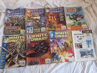 8 White Dwarf Games Workshop Books 204 216 220 224 225 226 224 228 229