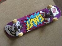 ENUFF POW complete Skateboard -purple