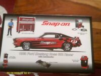 Snap on tools 1969 ford mustng boss 302 race in BLXT Accessories new MIB Rare