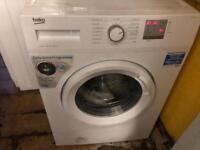Beko washing machine 1 year old