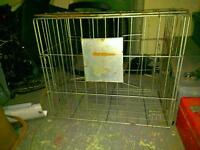 Small wire dog kennel/cages for sale!25$ obo