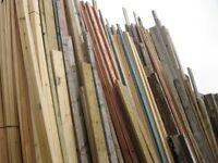 Various size Timber starting at £2.00 per length (Call 01895 239 607)