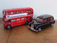 ELC Big City London Bus and Taxi