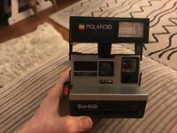 Sun600 Polaroid Camera