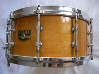 "Tama AW546 Artwood Pat 30 BEM snare drum 14 x 6 1/2"" - Japan - '80s - Billy Gladstone homage"