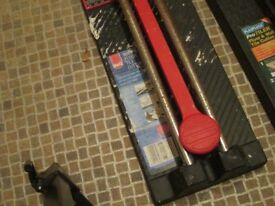 2 x Tile Cutter Manual Floor Wall cutting tool 250mm and 300mm -REF- 2.484kgheavy-471ap1snk4x