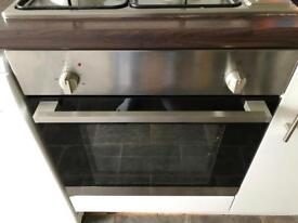 Electric oven, gas hob, and extractor fan FREE