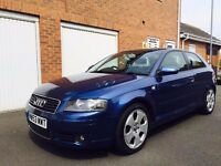 Audi A3 Sport 2.0 TDI 180bhp**PART EX TO CLEAR** 3dr MOT DEC 17 160k not 1.9 golf gt gtd astra focus