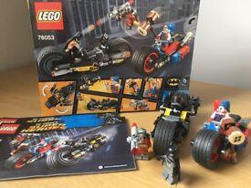 Lego Batman Gotham City Cycle Chase Super Heroes 76053