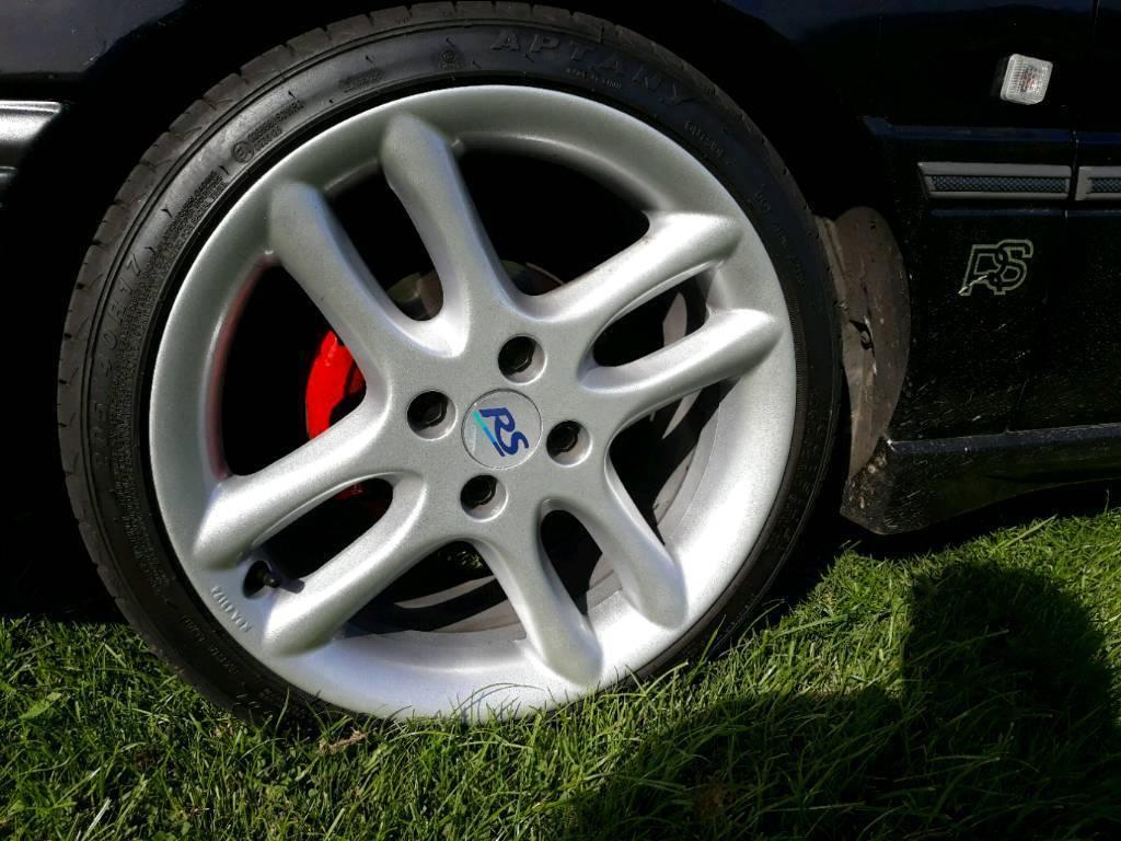 """ford rs 17"""" alloys rare wheels escort sierra orion mondeo ka rs xr st cosworth si ghia rare ka"""