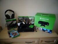 XBOX One Bundle with games controllers and HD Upgrades..