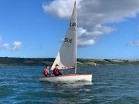 14ft Lark sailing dinghy