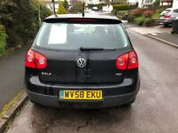 VW Golf, great car! Very reliable, had no issues, new cam belt and battery on last sevice