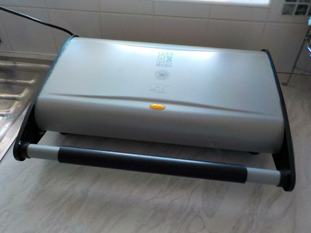 george foreman lean grilling machine chicken