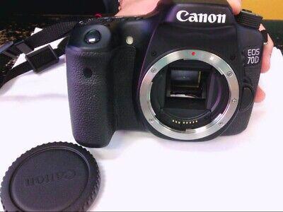 LOADED Canon EOS 70D Camera W/ 2 Lenses, 2 Tripods, Professional Mic, LOOKS GOOD comprar usado  Enviando para Brazil