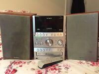 Compact Sony Stereo inc digital radio