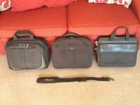 Selection of Computer Bags for Sale £5 to £10