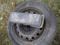 PEUGEOT 206 AS NEW SPARE TYRE AND TOOL KIT.