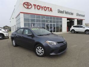 2014 Toyota Corolla CE is Accident Free :)
