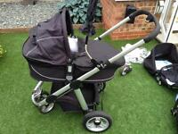 icandy Apple pram and accessory set