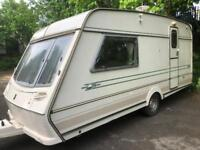 2 berth Abbey vogue 215 gts. NO DAMP. Top of the range. I can deliver free of charge. Cheap