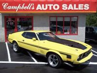 1973 Ford Mustang MACH1 429 COBRA JET!!! GREAT STRAIGHT CAR!! SU