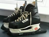 Bauer laser ice skates
