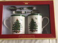 Spode Christmas mugs