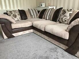 Corner sofa- available Today!
