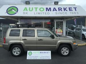 2008 Jeep Patriot Sport 4WD NORTH EDITION WARRANTY TOO!