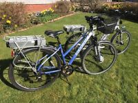 Electric bikes £450.00 each ono
