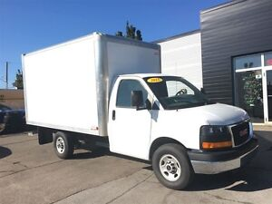 2015 GMC Savana 3500 12FT SRW CUBE VAN