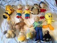 Bundle of 12 teddy bears