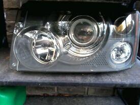 Range Rover Xenon Headlight N/S