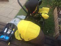 Graco Evo travel system pushchair pram ISOFIX Reduced from £200
