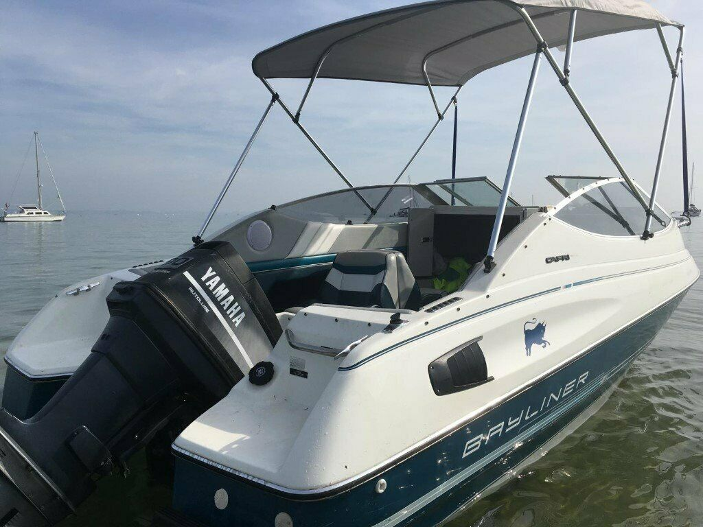 Motor boat - Bayliner Sports Cuddy | in Bournemouth, Dorset | Gumtree